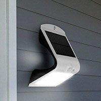 Bild LED Solar-Wandleuchte mit Bewegungsmelder 1,5 W
