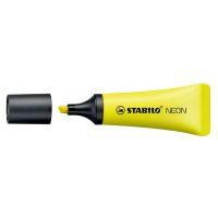Bild Textmarker Neon Tubenform - gelb