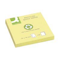 Bild Haftnotizen Recycling - 76 x 76 mm, gelb