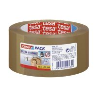 Bild Verpackungsklebeband tesapack® Ultra Strong, PVC, 66 m x 50 mm, braun