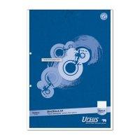Bild Briefblock A4 50 Blatt 70g/qm 5mm kariert, 2-Loch extraweiß