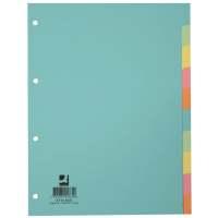 Bild Register - blanko, A4, 10 Blatt, Taben 10-farbig