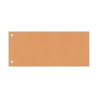 Bild Trennstreifen - 190 g/qm Karton, orange, 100 Stück