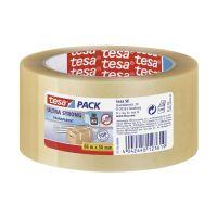 Bild Verpackungsklebeband tesapack® Ultra Strong, PVC, 66 m x 50 mm, transparent