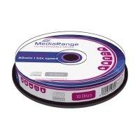 Bild CD-R Rohlinge - 700MB/80Min, 52-fach/Spindel, Packung mit 10 Stück