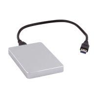 Bild externes USB 3.0 Festplattenlaufwerk - 500GB, silber