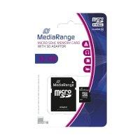 Bild Micro SDHC Speicherkarte 32GB Klasse 10 mit SD-Karten Adapter