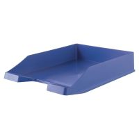 Bild Briefablage KARMA - DIN A4/C4, 100% Recyclingmaterial, öko-blau