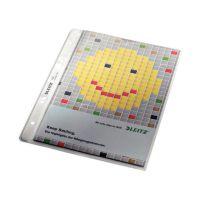 Bild 4725 Prospekthülle Premium mit Einreißschutz, A5, PP, genarbt, dokumentenecht, farblos