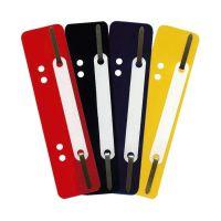 Bild Heftstreifen Kunststoff, kurz - Deckleiste aus Kunststoff, gelb, 25 Stück
