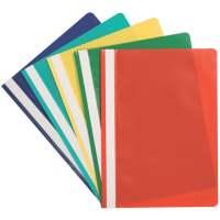 Bild Schnellhefter - A4, 250 Blatt, PP, 5 Stück farbig sortiert