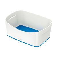Bild 5257 Aufbewahrungsschale MyBox - A5, ABS, weiß/blau