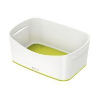Bild 5257 Aufbewahrungsschale MyBox - A5, ABS, weiß/grün