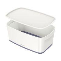 Bild Aufbewahrungsbox MyBox Klein - A5, mit Deckel, ABS, weiß/grau