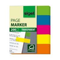Bild Haftmarker Folie - 50 x 12 mm, 5 Farben, 200 Streifen