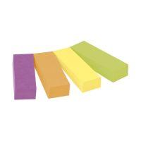 Bild Haftstreifen Page Marker schmal, 12,7 x 44,4 mm, farbig sortiert, 4 x 50 Blatt