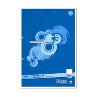 Bild Briefblock - A4, 50 Blatt, 70 g/qm, blanko, 2-fach Lochung