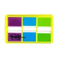 Bild Index 680, Etui mit 3 x 20 Streifen - 25,4 x 43,2 mm, lila, blau, grün