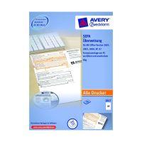 Bild 2817 Sepa-Überweisung - A4, inkl. Software-CD, 100 Blatt