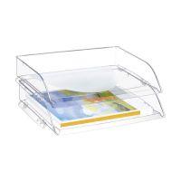Bild Briefkorb quer CepPro - A4/C4, glasklar
