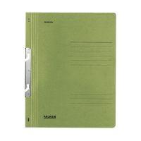 Bild Einhakhefter A4 1/1 Vorderdeckel kfm. Heftung, grün, Manilakarton, 250 g/qm
