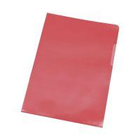 Bild Sichthülle - A4, 0,12 mm, genarbt, 10 Stück, rot
