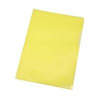 Bild Sichthülle - A4, 0,12 mm, genarbt, 10 Stück, gelb