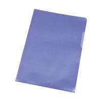 Bild Sichthülle - A4, 0,12 mm, genarbt, 10 Stück, blau