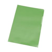 Bild Sichthülle - A4, 0,12 mm, genarbt, 10 Stück, grün