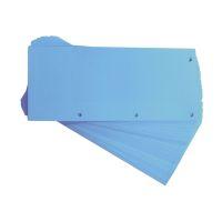 Bild Trennstreifen Duo 160 g/qm Karton - blau, 60 Stück