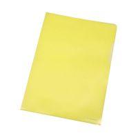 Bild Sichthülle - A4, 120 mym, genarbt gelb, 100 Stück