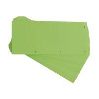 Bild Trennstreifen Duo 160 g/qm Karton - grün, 60 Stück