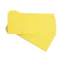 Bild Trennstreifen Duo 160 g/qm Karton - gelb, 60 Stück
