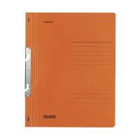 Bild Einhakhefter A4 1/1 Vorderdeckel kfm. Heftung, orange, Manilakarton, 250 g/qm