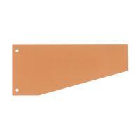 Bild Trennstreifen Trapez - 190 g/qm Karton, orange, 100 Stück