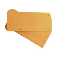 Bild Trennstreifen Duo 160 g/qm Karton - orange, 60 Stück