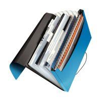 Bild 4579 Fächermappe Solid - 6 Fächer, A4, 250 Blatt, PP, hellblau