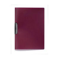 Bild Klemm-Mappe DURASWING® - A4, aubergine/graphit
