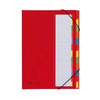Bild Deskorganizer - 12 Fächern, rot