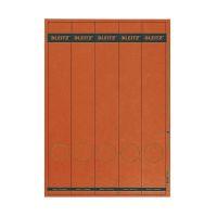 Bild 1688 PC-beschriftbare Rückenschilder - Papier, lang/schmal, 125 Stück, rot
