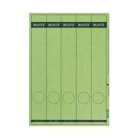 Bild 1688 PC-beschriftbare Rückenschilder - Papier, lang/schmal, 125 Stück, grün
