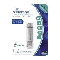 Bild USB Stick 3.1 Kombo-Speicherstick, mit USB Type-C™ Stecker - 64 GB