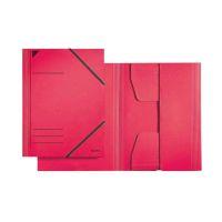 Bild 3981 Eckspannermappe - A4, 250 Blatt, Pendarec-Karton (RC), rot