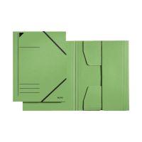 Bild 3981 Eckspannermappe - A4, 250 Blatt, Pendarec-Karton (RC), grün