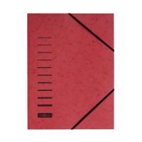 Bild Gummizugmappe - A4, 150 Blatt, rot