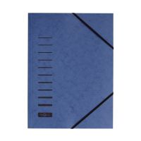 Bild Gummizugmappe - A4, 150 Blatt, blau
