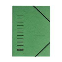 Bild Gummizugmappe - A4, 150 Blatt, grün