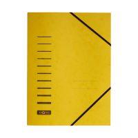 Bild Gummizugmappe - A4, 150 Blatt, gelb