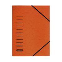Bild Gummizugmappe - A4, 150 Blatt, orange