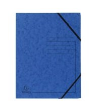 Bild Eckspanner A4 Colorspan - intensiv blau, Karton 355 g/qm